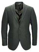 The Green Bickham Herringbone Sport Coat