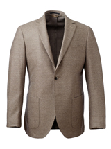 The Brown Halden Loro Piana Sport Coat Slim