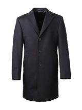 The Black Wembly Overcoat