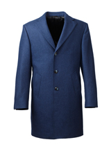 The Blue Wembly Overcoat